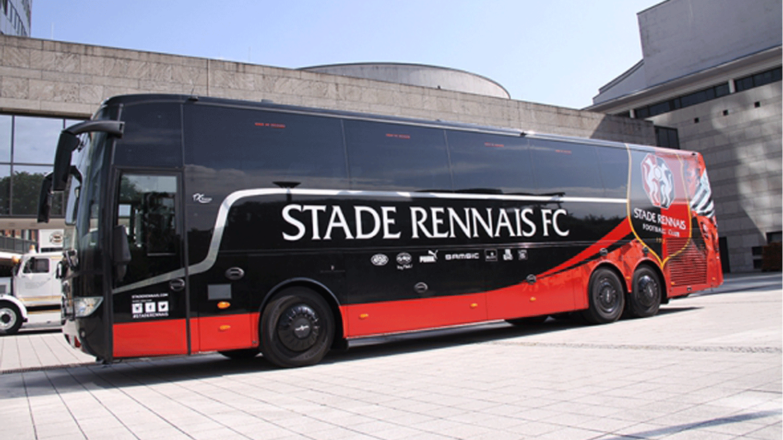 Marquage bus SRFC