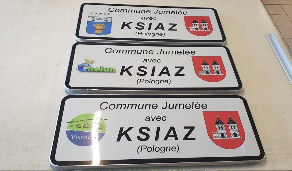 panneaux de route
